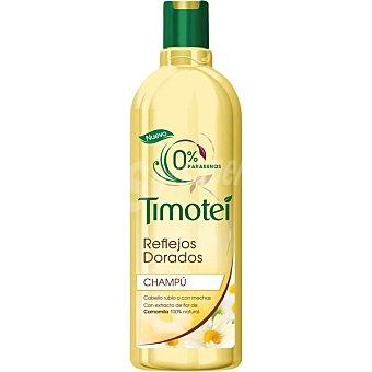 Timotei Champú Reflejos Dorados con extracto de flor de camomila para cabello rubio o con mechas Frasco 400 ml