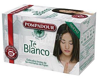 Pompadour Té blanco Caja 20 sobres