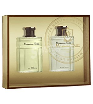 Massimo Dutti Estuche Colonia 100ml + After shave 100ml. 1 ud