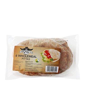 Michel's Pan de pita integral 400 g