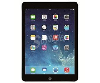"""iPAD AIR GRIS ESPACIAL Tablets con pantalla retina 9,7"""" apple ipad AIR MD791TY/A plata, procesador: A7 de 64 bits y coprocesador de movimiento M7, Ram: 1GB, almacenamiento: 16GB, resolución: 2.048 x 1.536, cámara frontal (1,2Mp) y trasera (5Mp), grabación de vídeo: 1080p, Conectividad 4G, wifi, Bluetooth, iOS 7, 9,7"""" WiFi+4G"""