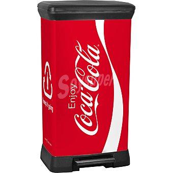 Curver Cubo de basura decorado Coca Cola 50 l 50 l