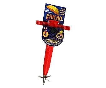PINCHO Pincho base con punta de aluminio para sombrillas de tubo de hasta 35 milímetros 1 unidad