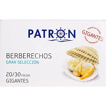PATRON GRAN SELECCION Berberechos al natura gigantesl 20-30 piezas lata 63 g Lata 63 g