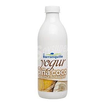 El Barranquillo Yogur líquido de coco y piña 1 l