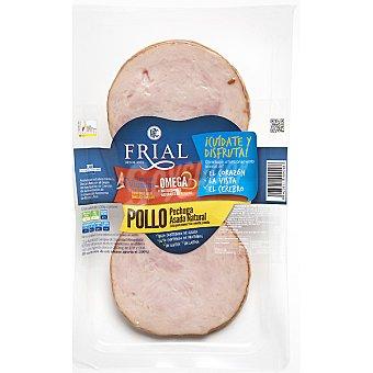FRIAL pechuga de pollo asada natural con Omega 3 envase 150 g