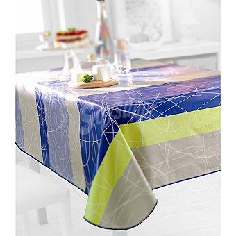 CASACTUAL Tetris mantel estampado plastificado 140 x 220