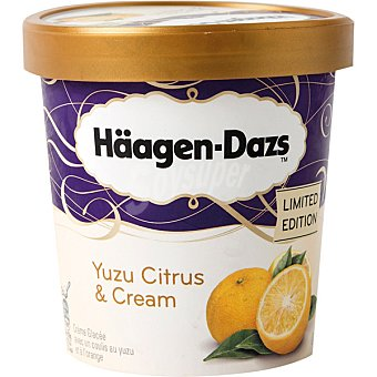 Häagen-Dazs Yuzu citruz & cream helado sabor limón edición limitada  Tarrina de 414 g