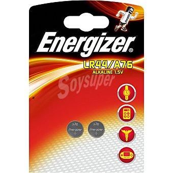 Energizer Pila alcalina (lr44/a76) 15v blister 2 unidades
