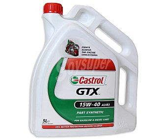 CASTROL Aceite mineral para vehículos gasolina y diésel 5 Litros