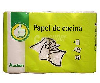 Productos Económicos Alcampo Rollo de cocina Paquete de 4 unidades