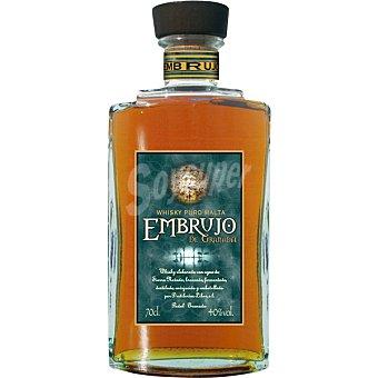 EMBRUJO de Granada whisky puro de malta Botella 70 cl