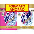 Gold pack con quitamanchas Oxi Action + quitamanchas y blanqueador en polvo pack 2 bote 470 g Pack 2 bote 470 g Vanish Gold
