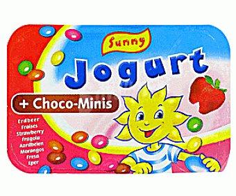 Sunny Delight Yogur de Fresa Con Chocos Yog.crem Fresa c/Cho120g
