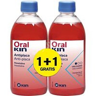 Oralkin Enjuague bucal Pack 2x500 ml