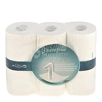 Carrefour Papel higiénico 6 unidades