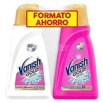Vanish Quitamanchas gel Gold Blanco 940 ml + Rosa 940 ml 1 ud