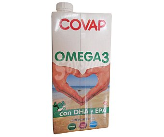 Covap Leche con omega 3 Envase 1 l