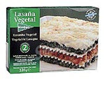 El Corte Inglés Lasaña vegetal Estuche 520 g