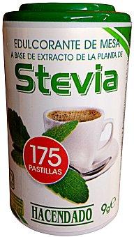 Hacendado Edulcorante Stevia natural pastillas BOTE 175 u