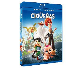 Warner bros Cigüeñas, película en Bluray. Género: animación, infantil, cine familiar. Edad: TP.