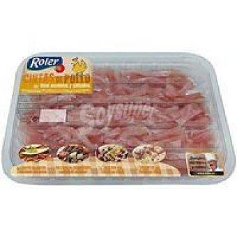 Roler Cintas de pollo marinadas Bandeja 350 g