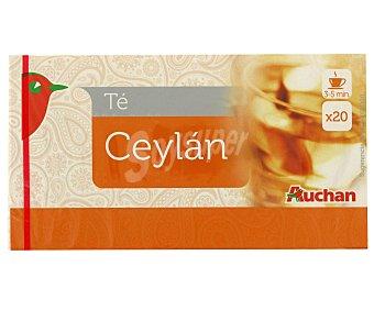 Auchan Té Ceylan 25 uds