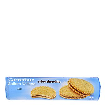 Carrefour Galletas de calcio rellenas de chocolate 500 g