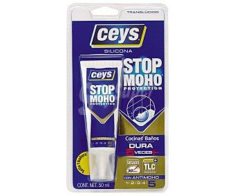 Ceys de silicona translucida para cocinas y baños, ceys Tubo de 50 ml