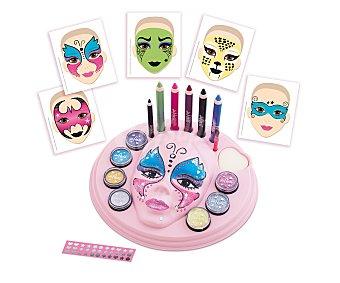 Diset Centro de Maquillaje de Fantasía de la Señorita Pepis, incluye purpurinas, plantillas...DISET  1 unidad