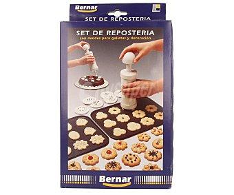 Bernar Set de repostería con moldes para galletas y decoración bernar
