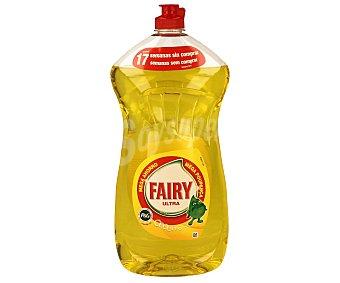 Fairy Lavavajillas limón Botella 1,25 litros
