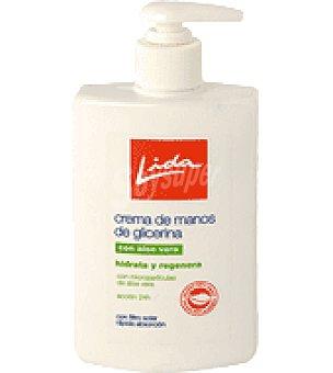 Lida Crema de manos de glicerina Tubo de 250 ml