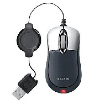 Belkin Mini raton optico negro Unidad