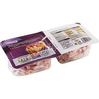 Eroski Taquitos de bacón Pack 2x100 g