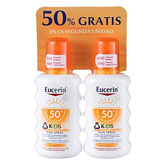Eucerin Spray solar infantil FP 50+ Pack 2x200 ml