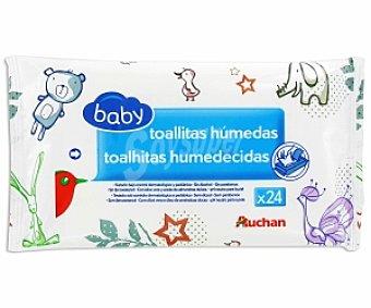 Baby Auchan Toallitas Bebé 24u