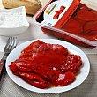 Pimiento asado entero rojo 330 g Campo Rico