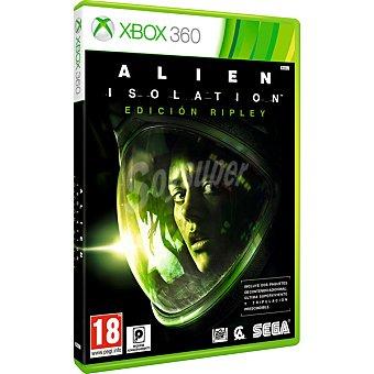 XBOX 360 Videojuego Alien Isolation Edición Ripley para Xbox 360