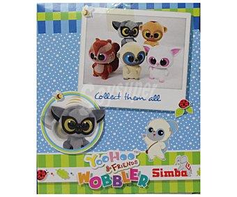 SIMBA Mini mascotas Yoohoo & Friends Wobble Head, gran cabeza y ojos grandes, 10 centímetros de alto 1 unidad