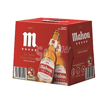 Mahou Cerveza 5 estrellas Pack 12x25 cl