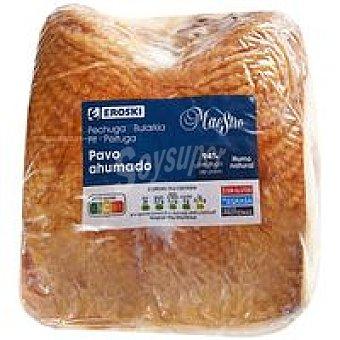 Eroski Pechuga de pavo ahumada 100 g
