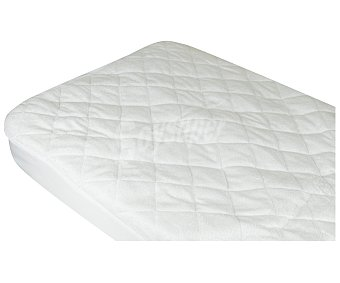 Pikolin Protector de colchón acolchado confeccionado en rizo bambú, híper-transpirable 90cm., pikolin