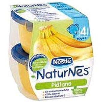 Naturnes Nestlé Tarrina de plátano Pack 2x130 g