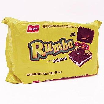 Bagley Galleta de chocolate rellena sabor coco Rumba 336 g