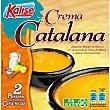 Crema catalana postre helado sin gluten en tarrinas cerámicas  2 unidades x 95 g Kalise