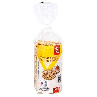 DIA Tortitas de maíz paquete 130 gr