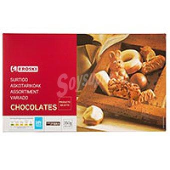 Eroski Surtido de chocolates Caja 350 g