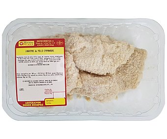 Moreno Bandeja de lagrimas de pollo empanadas 700.0 Aproximados plaza