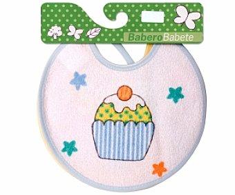 BABERO Baberos recién nacido 18x18cm 2 Unidades
